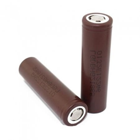 Pair 18650 Batteries High Drain 3000mah each