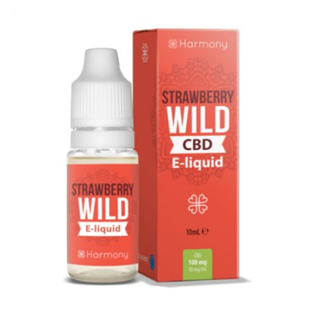 Harmony CBD Oil Strawberry Hemp E-liquid