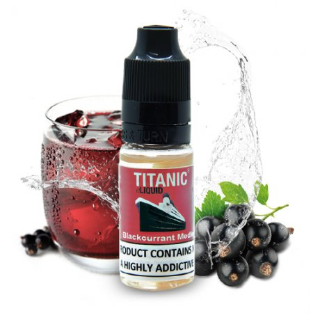 Titanic Blackcurrant Medley ELiquid