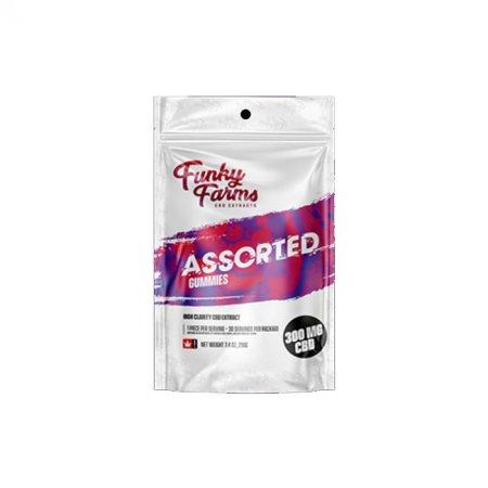 Funky Farms Assorted Gummies 30pcs 300mg