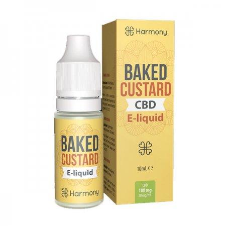 Harmony CBD Oil Baked Custard 30mg