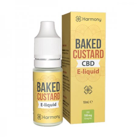 Harmony CBD Oil Baked Custard 300mg