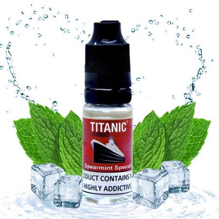 Titanic E-liquid Spearmint Special