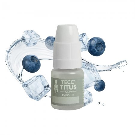 Tecc Titus ADV E-liquid Blueberry Ice