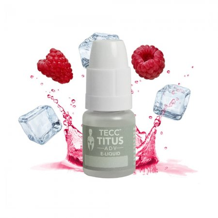 Tecc Titus ADV E-liquid Raspberry Ice
