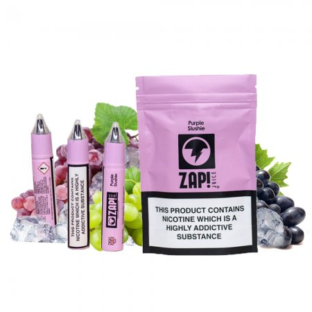 ZAP! Juice Purple Slushie
