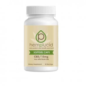 Hemplucid: Gel Caps (30 Count) - 15mg