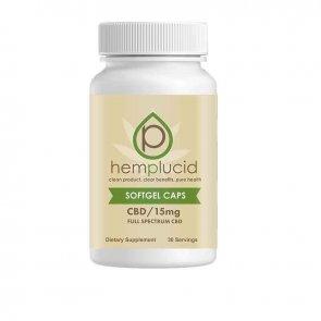 Hemplucid: Gel Caps (30 Count) - 15mg