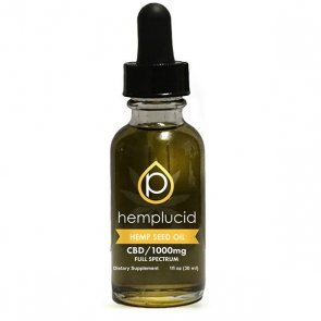 Hemplucid: Hemp Oil 30ml - 1000mg