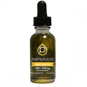 Hemplucid: Hemp Oil 30ml - 500mg