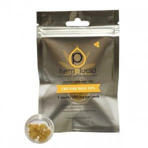 Hemplucid CBD Wax Dab 200mg