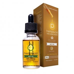 Hemplucid: Full Spectrum CBD MCT Oil 30ml - 250mg