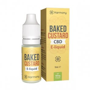 Harmony CBD Oil Baked Custard 100mg