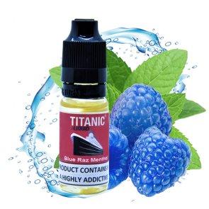 Blue Raz Menthol E-Liquid 10ml
