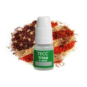 TECC Titan E-liquid American Red Tobacco