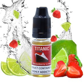 Titanic eliquid Strawberry & Lime