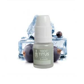 Tecc Titus ADV E-liquid Blackcurrant Ice