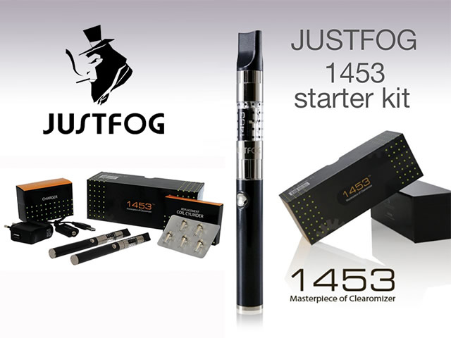 Justfog 1453 UK Kit and Clearomizer