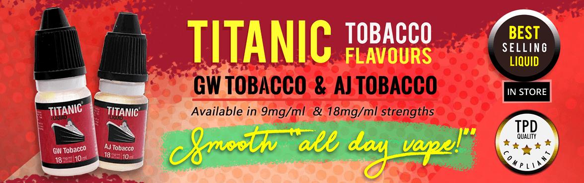 Aj & GW Tobacco eLiquid